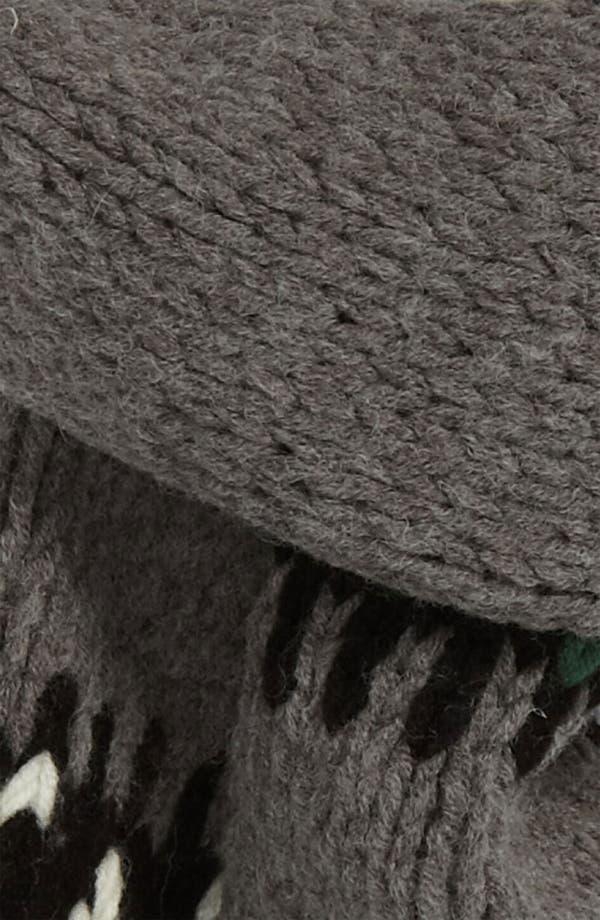 Alternate Image 2  - DIESEL® 'Banner' Knit Scarf