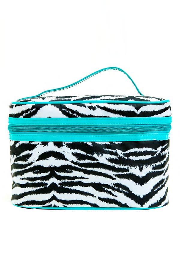 Alternate Image 3  - Tricoastal Design 'Zebra' Cosmetics Bag Set