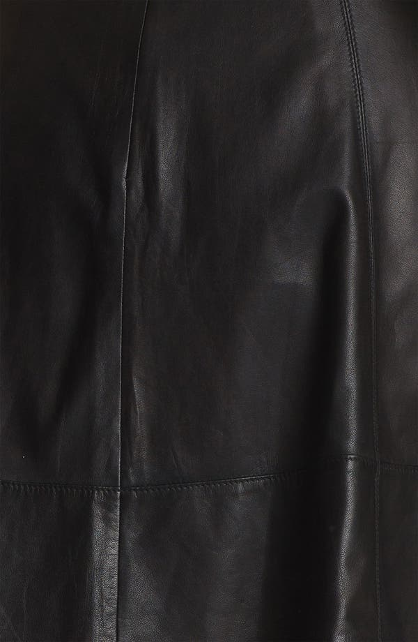 Alternate Image 3  - Miss Wu Leather Circle Skirt (Nordstrom Exclusive)