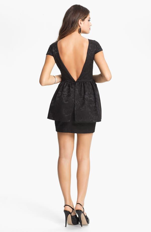 Alternate Image 2  - Keepsake the Label 'Shake It Out' Peplum Dress
