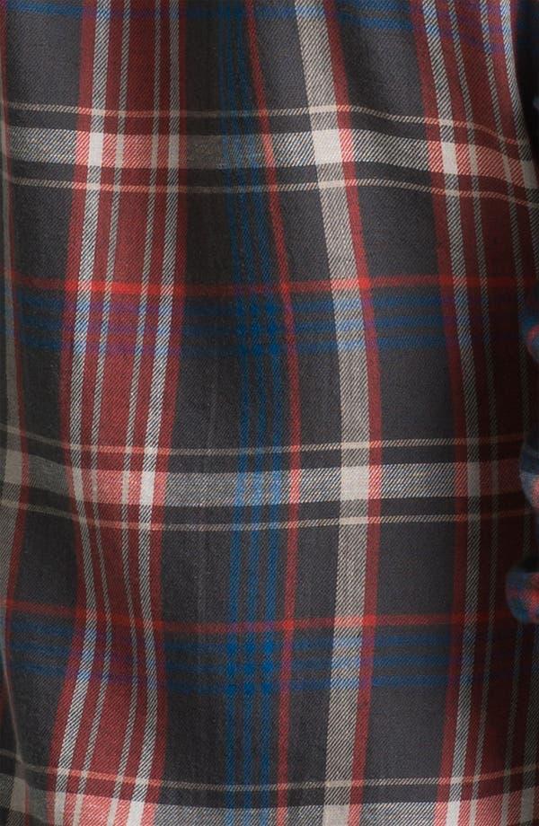 Alternate Image 3  - James Perse 'Harbor' Plaid Shirt