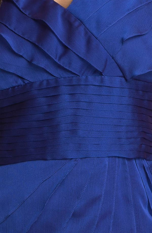 Alternate Image 3  - Adrianna Papell Chiffon Petal Gown (Plus Size)