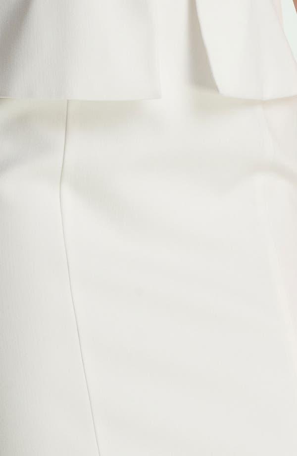 Alternate Image 3  - Black Halo 'Keyton' Peplum Sheath Dress