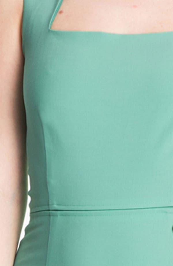 Alternate Image 3  - Rachel Roy Stretch Wool Sheath Dress