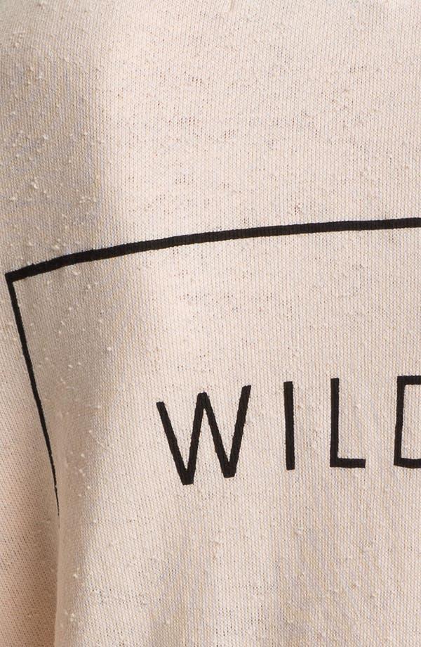 Alternate Image 3  - Wildfox 'Wildest Heart' Graphic Hoodie