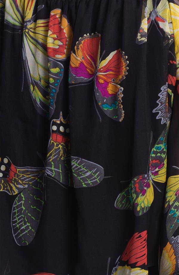 Alternate Image 3  - Alberto Makali Butterfly Print Silk Blouse