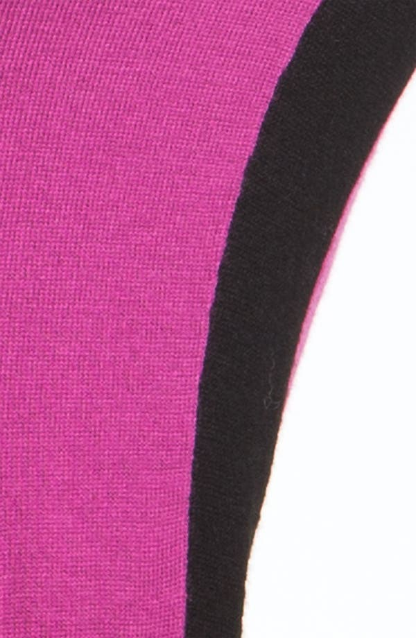 Alternate Image 3  - MICHAEL Michael Kors Colorblock Crewneck Sweater (Petite)