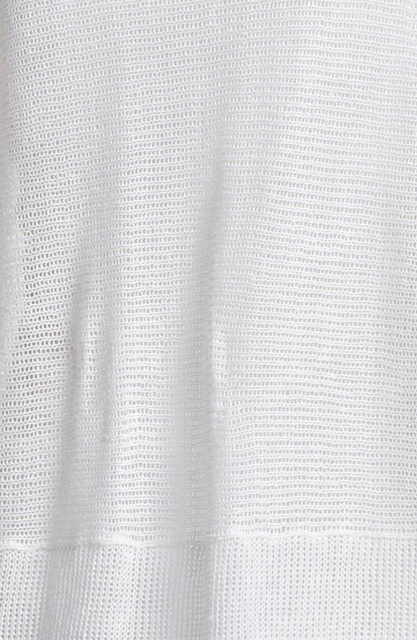 Alternate Image 3  - Eileen Fisher V-Neck Mesh Sweater (Online Exclusive)