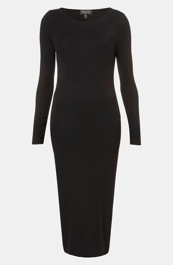 Alternate Image 1 Selected - Topshop Body-Con Midi Dress