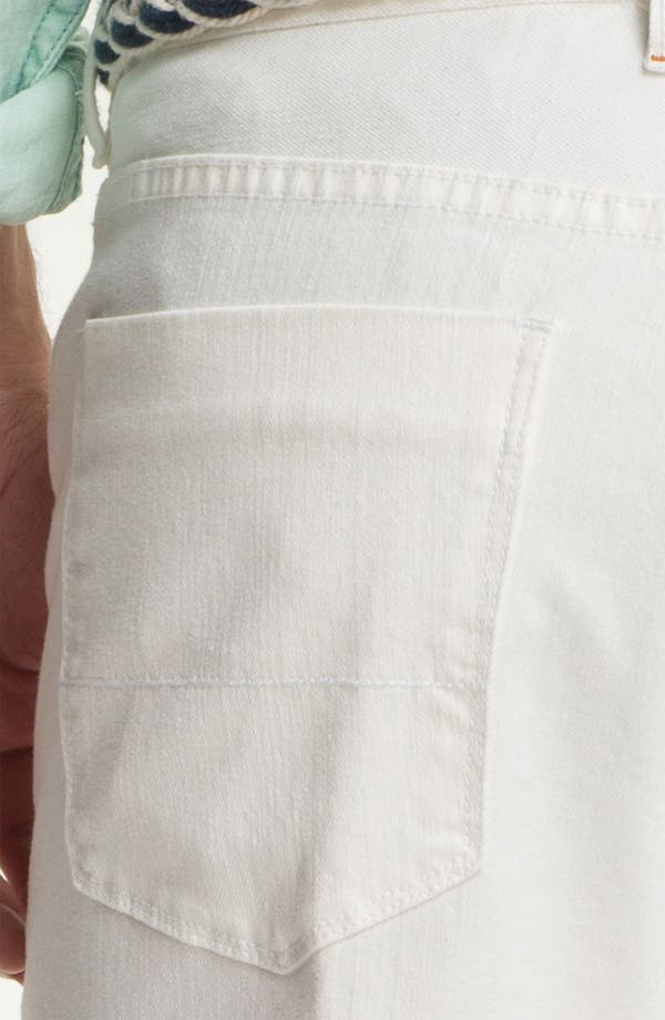 Alternate Image 4  - Tommy Bahama Denim Authentic Fit Jeans (White)