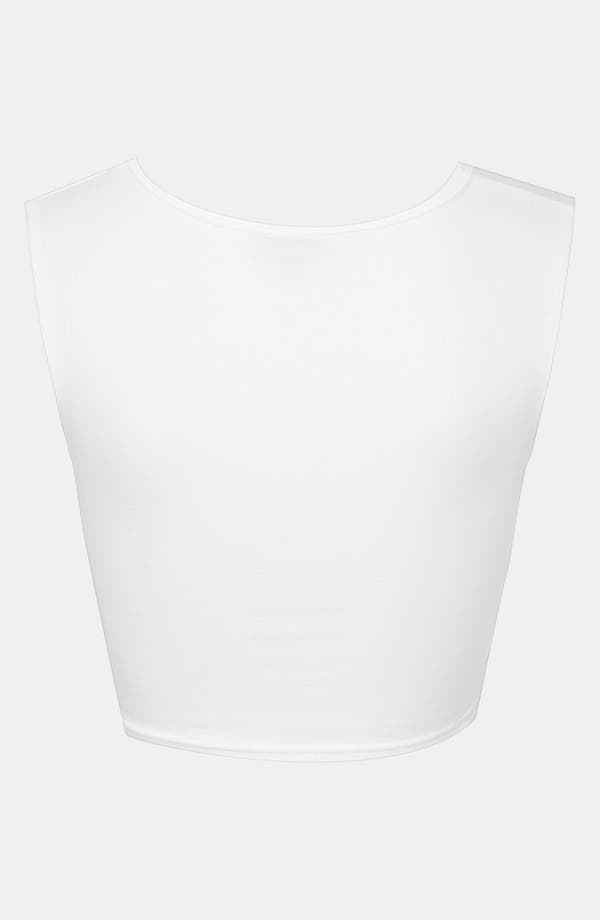 Alternate Image 2  - Topshop Crop Tank