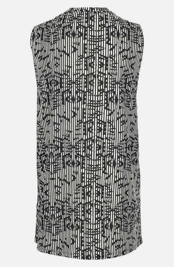 Alternate Image 2  - Topshop Aztec Stripe Tunic Tank