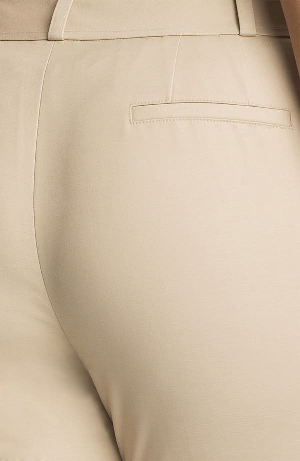 Alternate Image 3  - Sejour Stretch Cotton Pants (Plus Size)