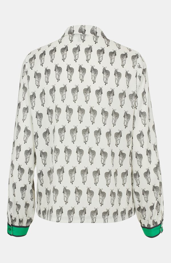 Alternate Image 2  - Topshop 'Zebra' Shirt