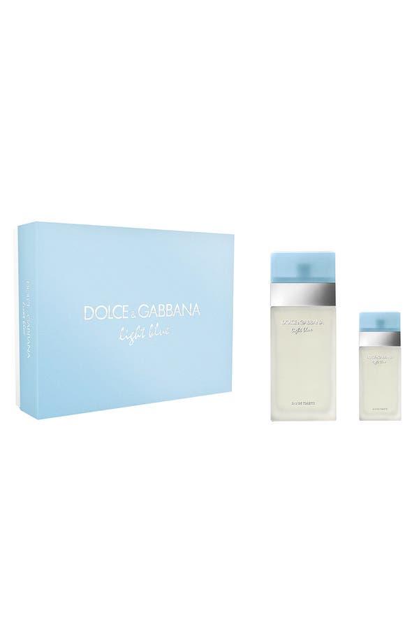 Main Image - Dolce&Gabbana Beauty 'Light Blue' Eau de Toilette Set ($137 Value)