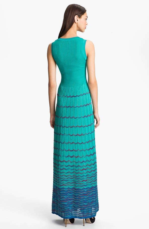 Alternate Image 2  - M Missoni Wave Stripe Maxi Dress