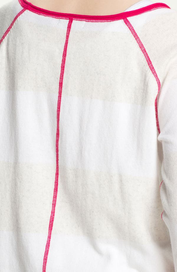 Alternate Image 3  - Press Contrast Trim Sweater