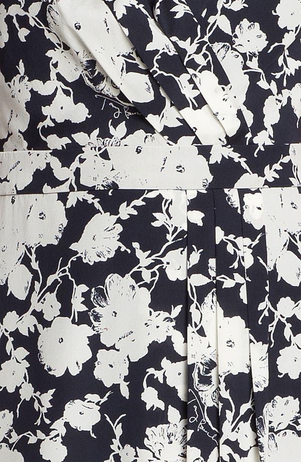 Alternate Image 3  - Tory Burch 'Victoria' Stretch Silk Faux Wrap Dress