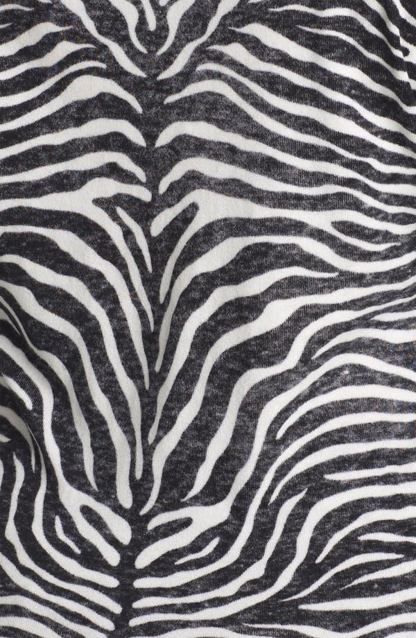 Alternate Image 3  - MICHAEL Michael Kors Print V-Neck Sweater (Plus)