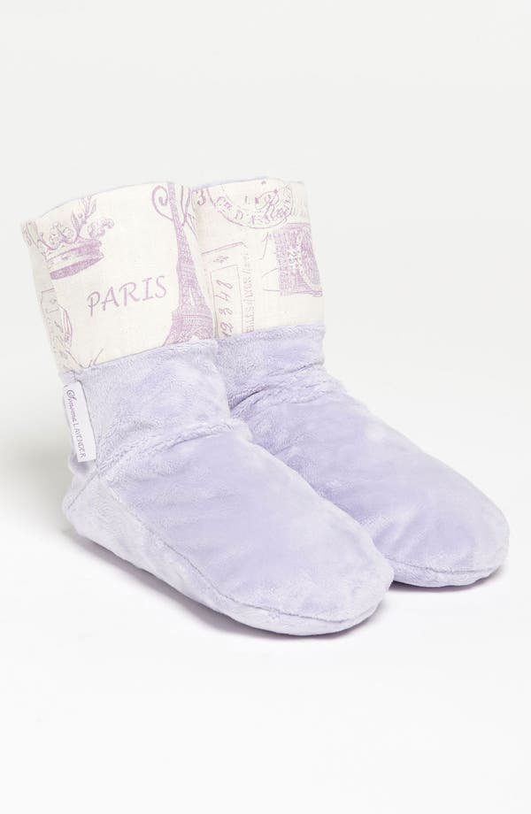 Alternate Image 1 Selected - Sonoma Lavender 'French Stamp' Spa Booties