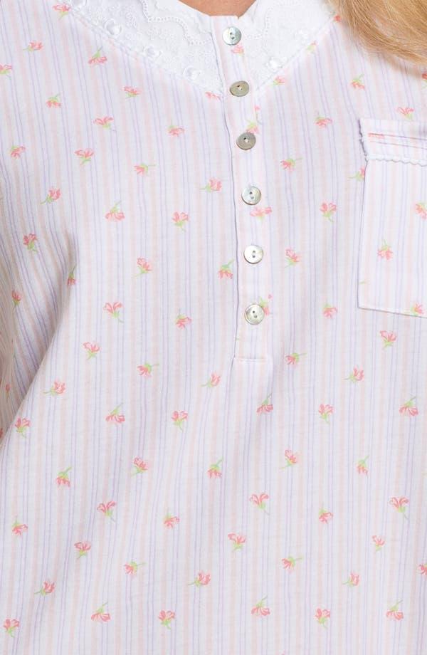 Alternate Image 3  - Eileen West 'Pastoral Beauty' Sleep Shirt