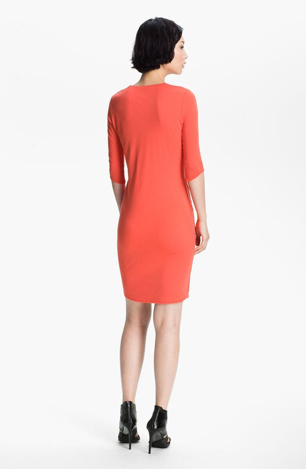 Alternate Image 2  - HELMUT Helmut Lang 'Feather' Draped Jersey Dress