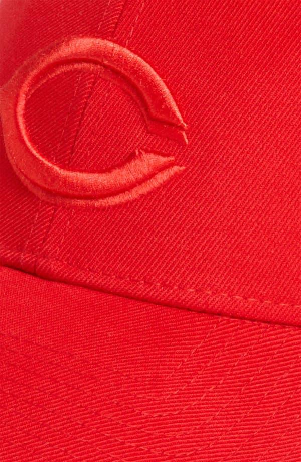Alternate Image 3  - New Era Cap 'Cincinnati Reds - Tonal Classic' Fitted Baseball Cap