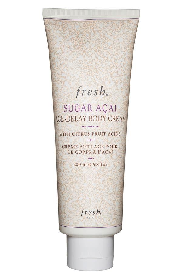 Alternate Image 1 Selected - Fresh® 'Sugar Açai Age-Delay' Body Cream