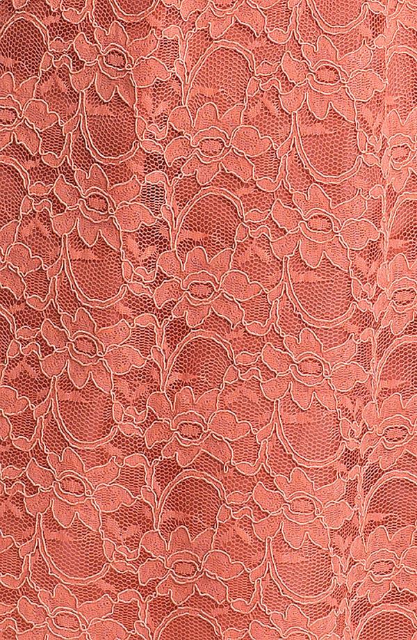 Alternate Image 3  - Calvin Klein Sleeveless Lace Fit & Flare Dress