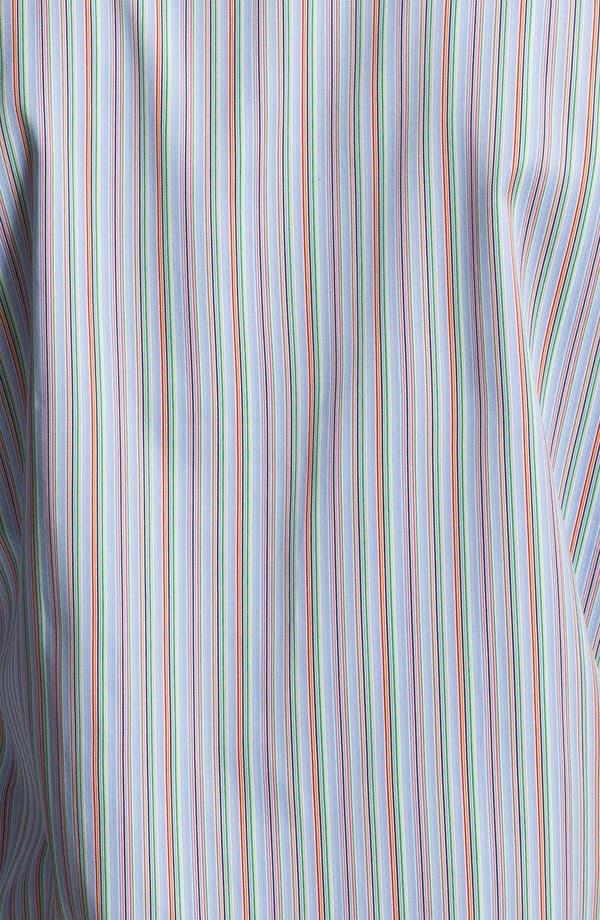 Alternate Image 3  - BUGATCHI Shaped Fit Sport Shirt (Tall)