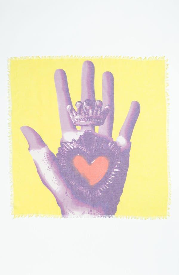 Alternate Image 2  - Tarnish 'Heart in Hand' Scarf