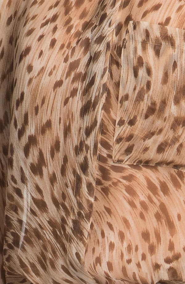 Alternate Image 5  - Haute Hippie Leopard Print Silk Shirt