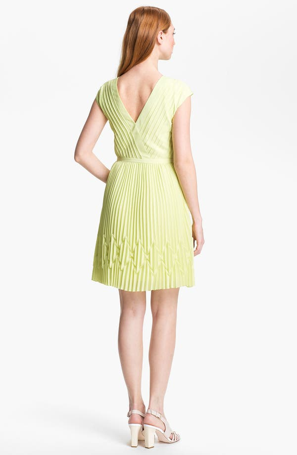 Alternate Image 2  - Ted Baker London Pleated Fit & Flare Dress (Online Only)