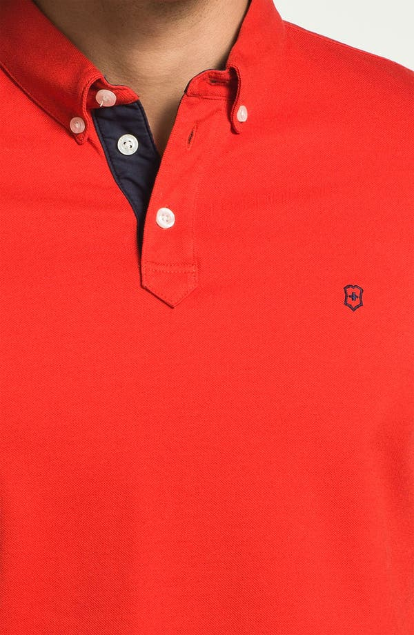 Alternate Image 3  - Victorinox Swiss Army® 'Winners' Tailored Fit Polo (Online Only)