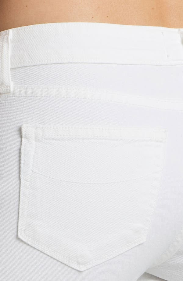Alternate Image 3  - Paige Denim 'Jax' Stretch Denim Bermuda Shorts (Optic White)