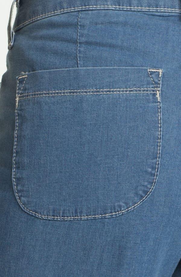 Alternate Image 3  - NYDJ 'Lizzie' Wide Leg Stretch Jeans