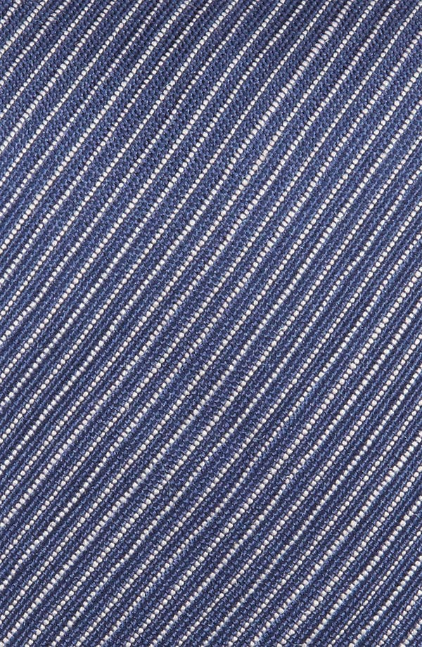 Alternate Image 3  - Z Zegna Stripe Woven Silk Tie