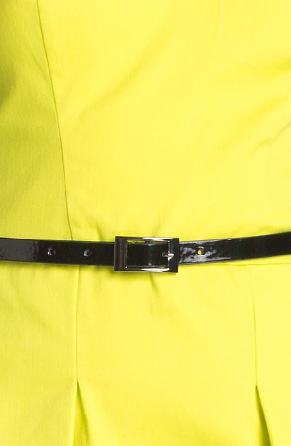 Alternate Image 3  - Vince Camuto Belted Peplum Sheath Dress