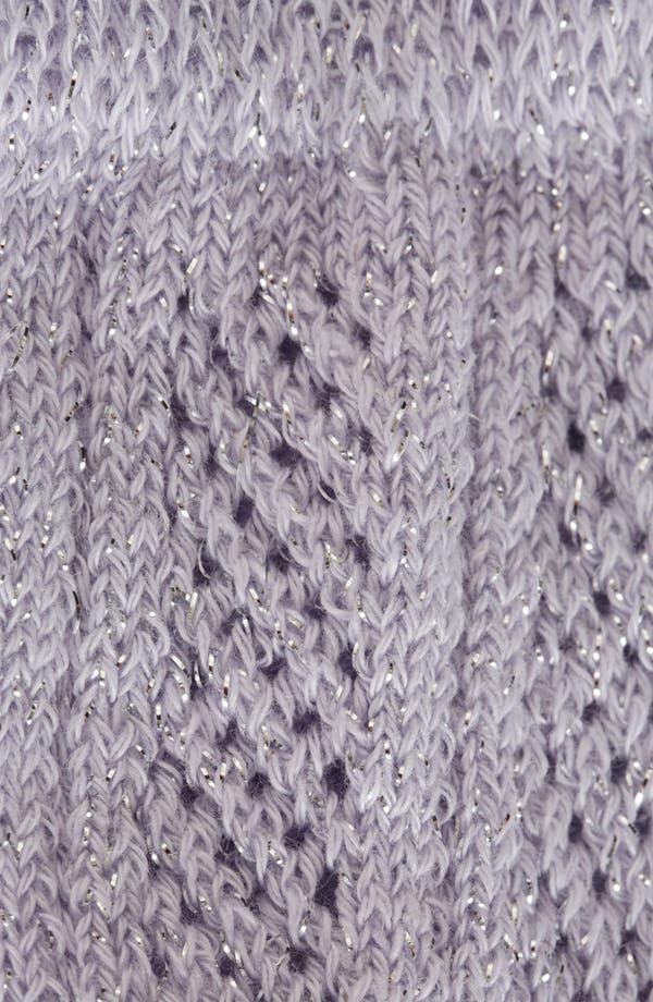 Alternate Image 2  - Topshop Glitter Pellorine Socks