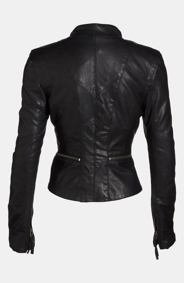 Alternate Image 2  - BLANKNYC Faux Leather Jacket