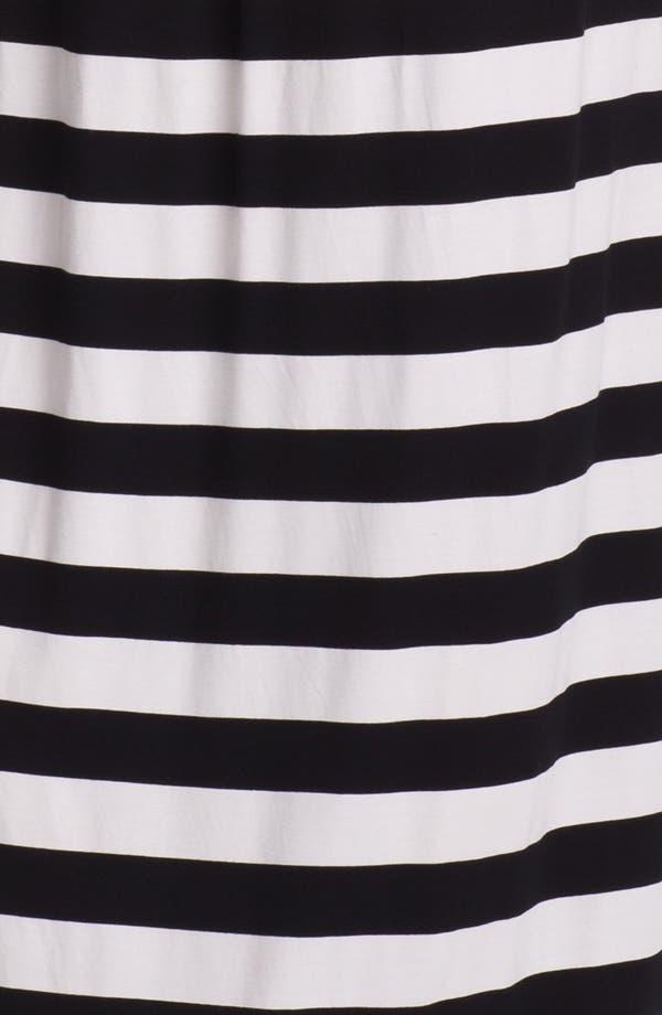 Alternate Image 3  - Vince Camuto Stripe Halter Maxi Dress
