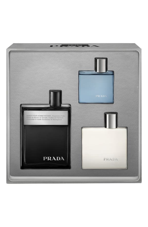 Alternate Image 2  - Prada 'Amber pour Homme Intense' Fragrance Set ($144 Value)