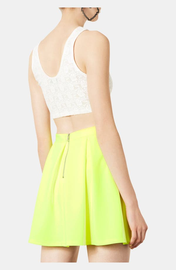 Alternate Image 3  - Topshop Lace Super Crop Tank