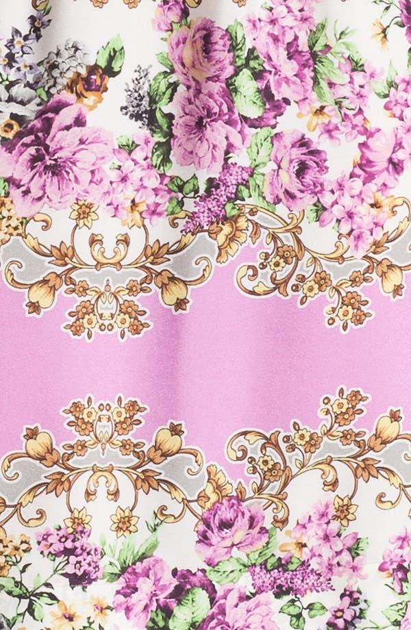 Alternate Image 3  - Maggy London Floral Print Blouson Jersey Dress