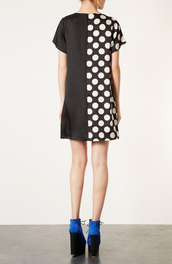 Alternate Image 2  - Topshop Spot Mix Tunic Dress