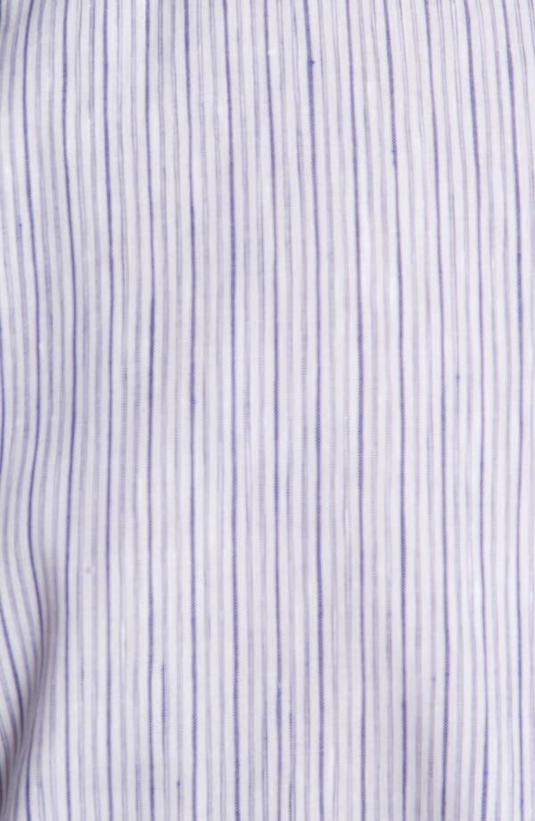 Alternate Image 3  - Burberry London Pembury Stripe Sport Shirt