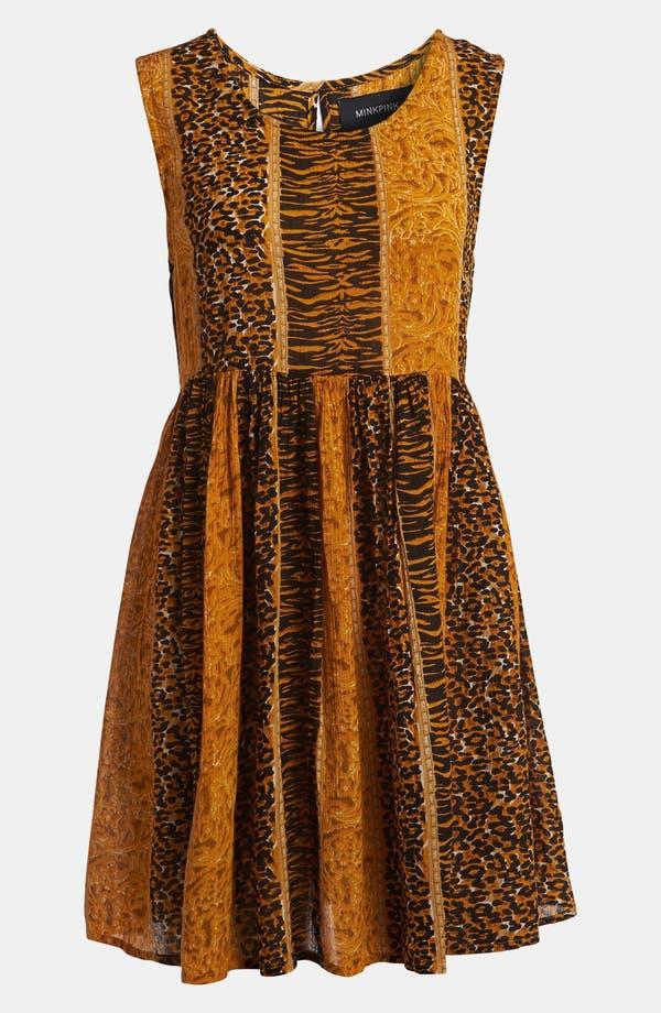 Alternate Image 2  - MINKPINK 'Fair Game' Sheer Babydoll Dress