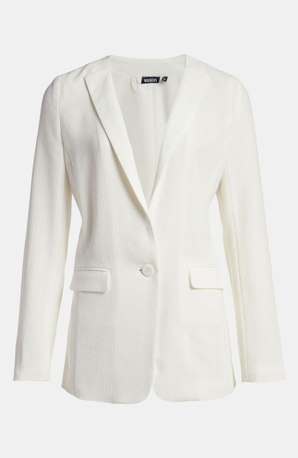 Alternate Image 1 Selected - Tildon Turnback Collar Blazer