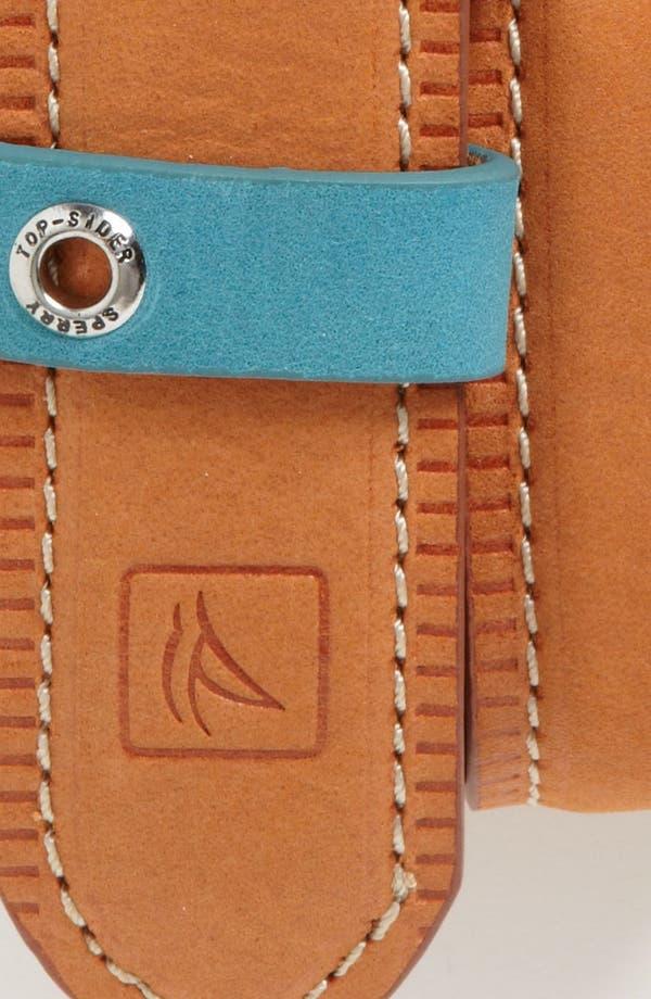 Alternate Image 2  - Sperry Top-Sider® 'Hazybuck' Leather Belt