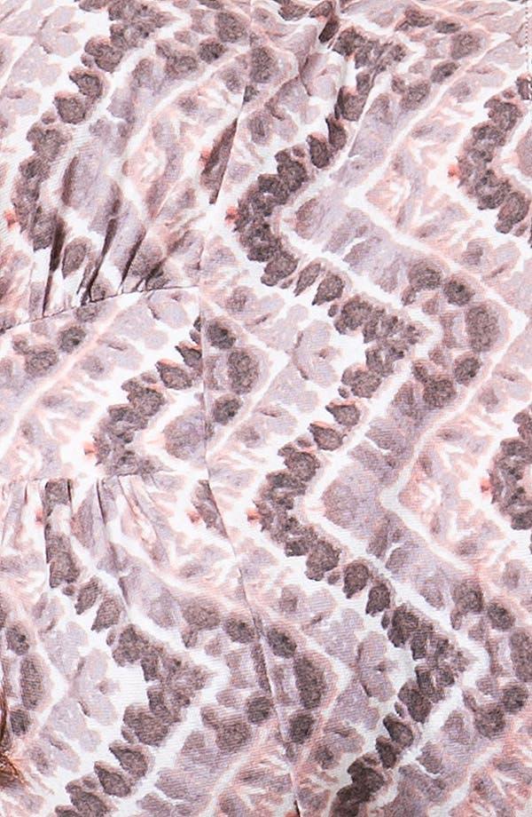 Alternate Image 3  - Painted Threads Print Long Line Bralette (Juniors)